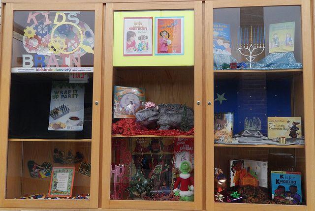 Schimelpfenig Library 2013 Holiday Display   Flickr - Photo Sharing!