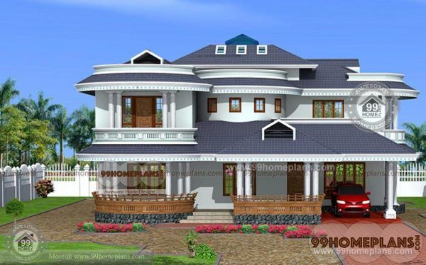 4 BHK Duplex House Plan - Latest Modern Home Elevation ...