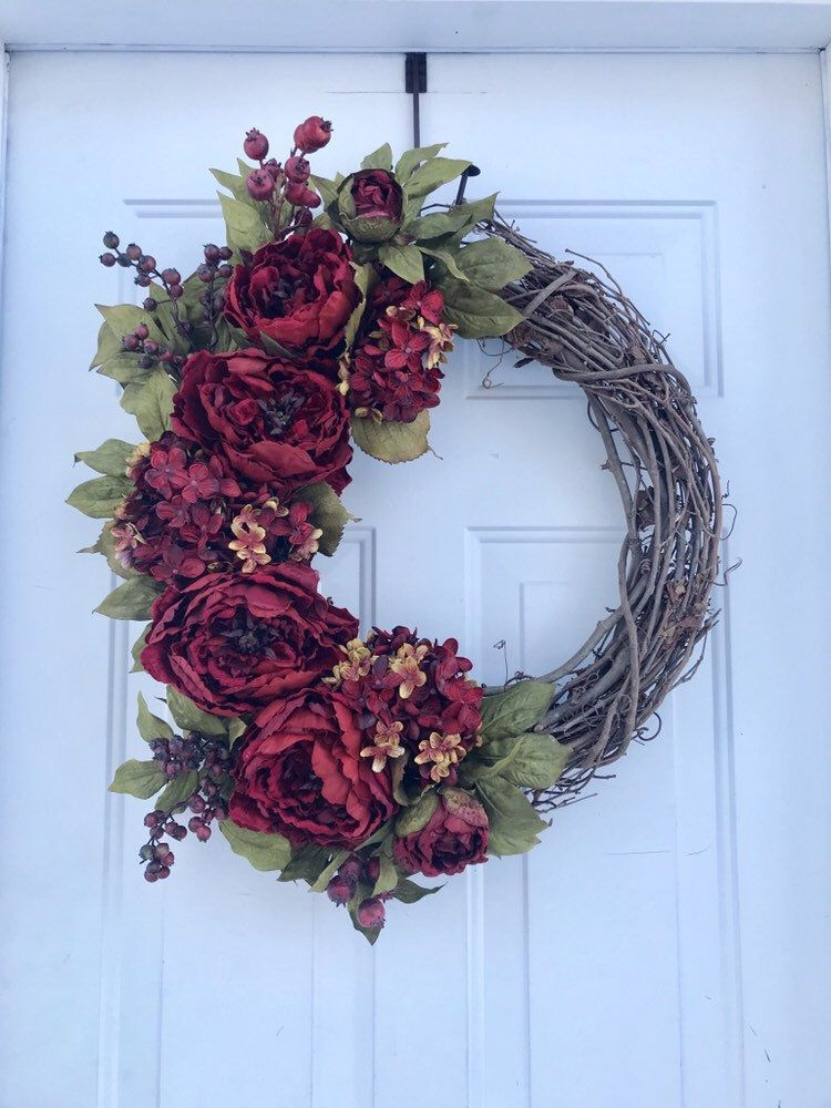Photo of Spring Wreaths For Front Door, Mother's Day Wreaths, Easter Wreaths