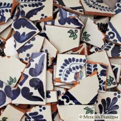 Purchase Broken Mexican Tile By The Pound Mosaics Pinterest - Broken ceramic tiles for sale