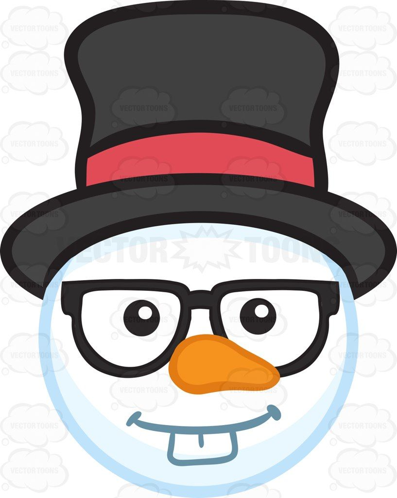 Top Hat Coloring Page - Snowman Transparent Black And White , Free  Transparent Clipart - ClipartKey