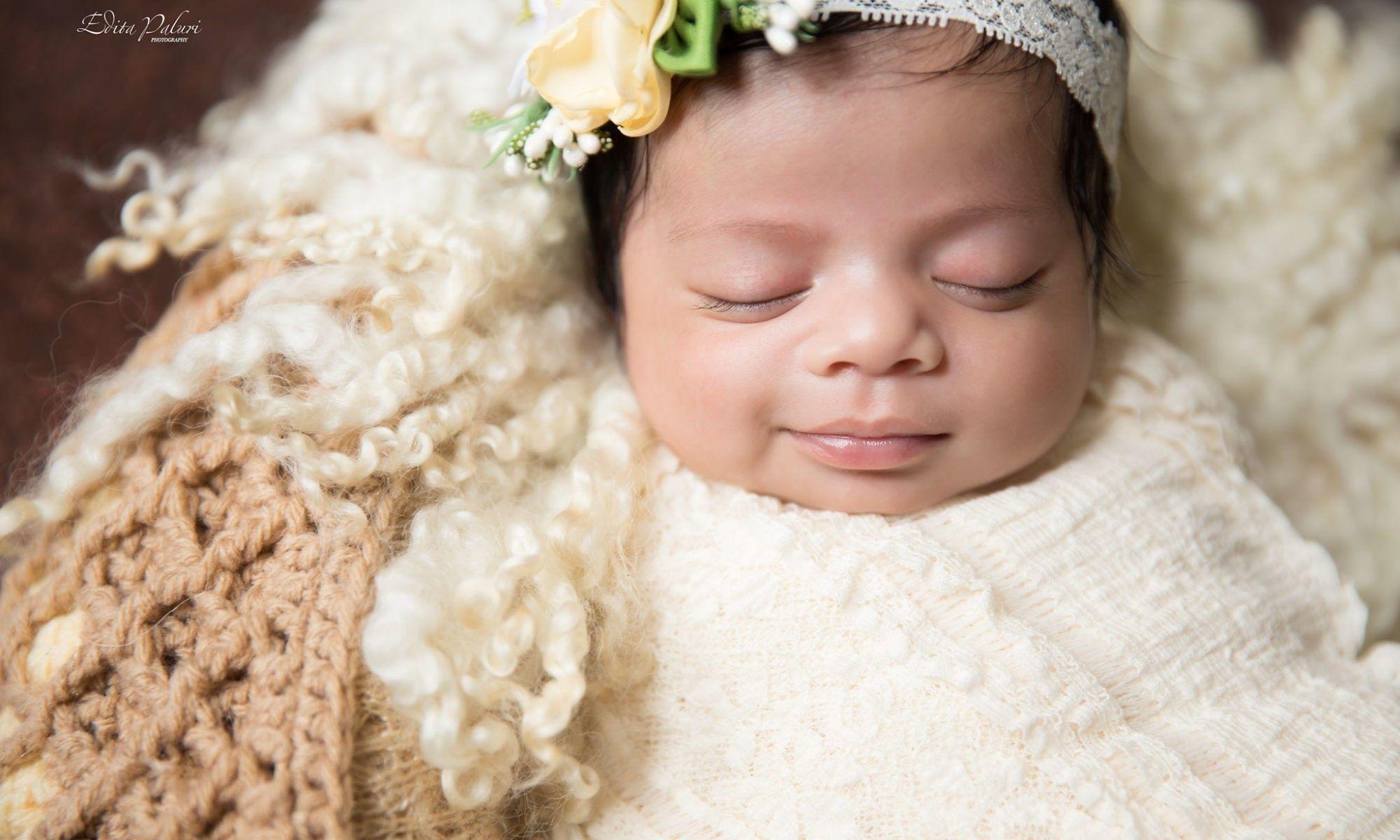 Baby girl newborn baby girl photography pune infants baby photos young