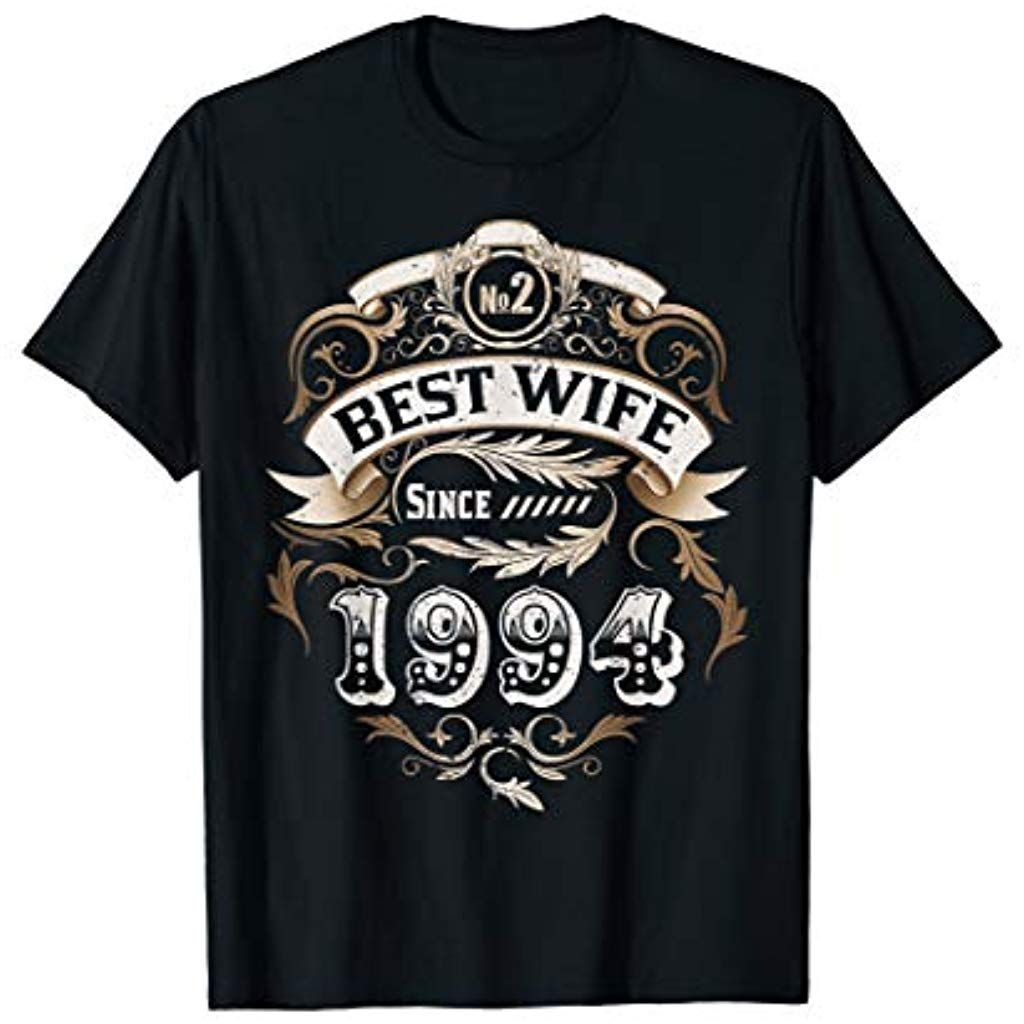 25th Wedding Anniversary Gifts 25 Years Best Wife Since 1994 Clothing Shoe 29th Wedding Anniversary 13th Wedding Anniversary Gift 25 Wedding Anniversary Gifts