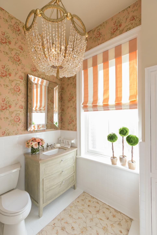 BeforeandAfter Bathroom Remodels On A Budget Elegant Chandeliers - $5000 bathroom remodel