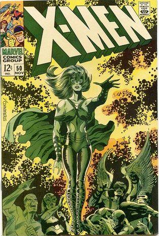 X Men 50 By Steranko Jim Steranko Comic Book Artists Silver Age Comics