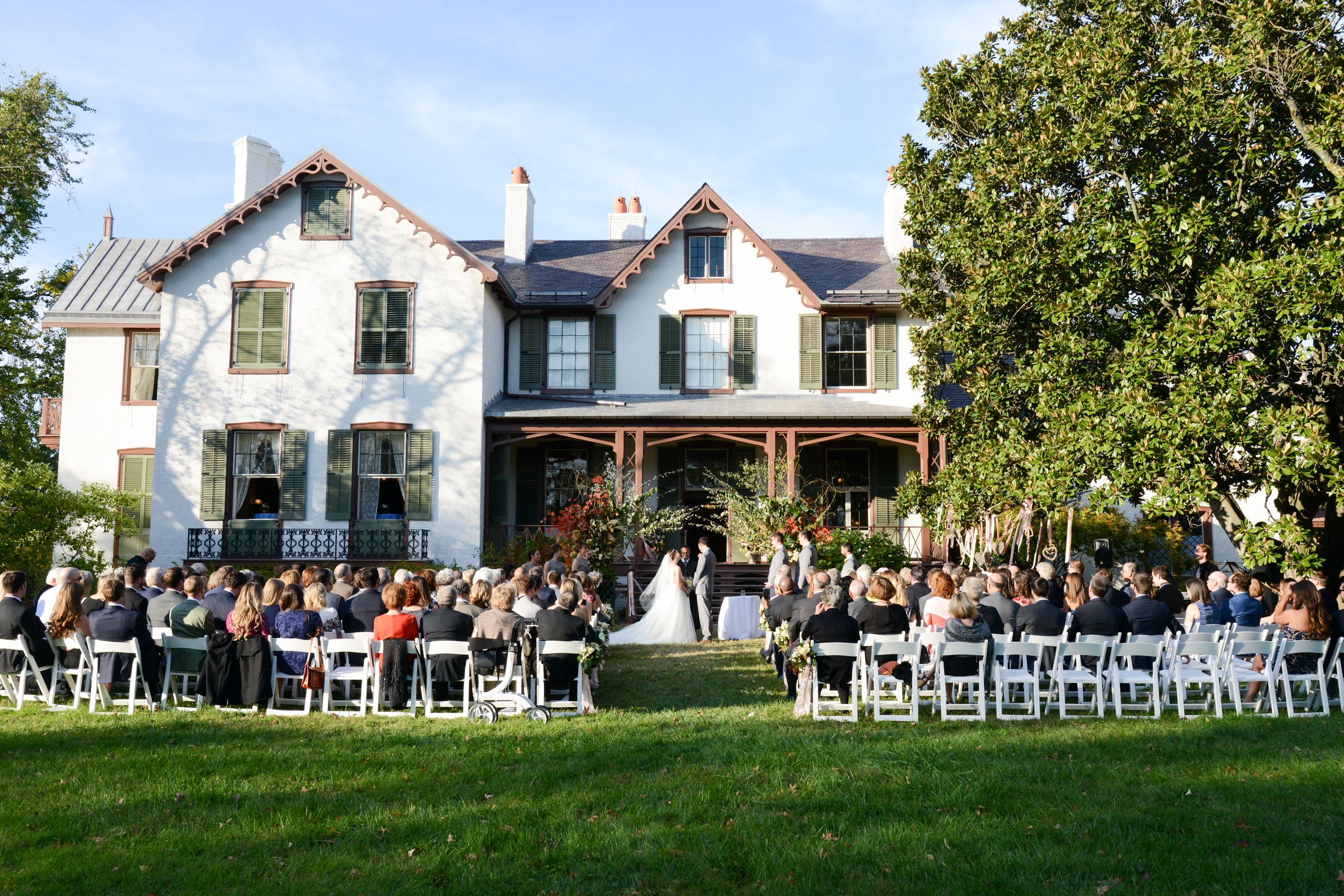 The Setting President Lincoln S Cottage Cottage Wedding Reception Venues President Lincoln