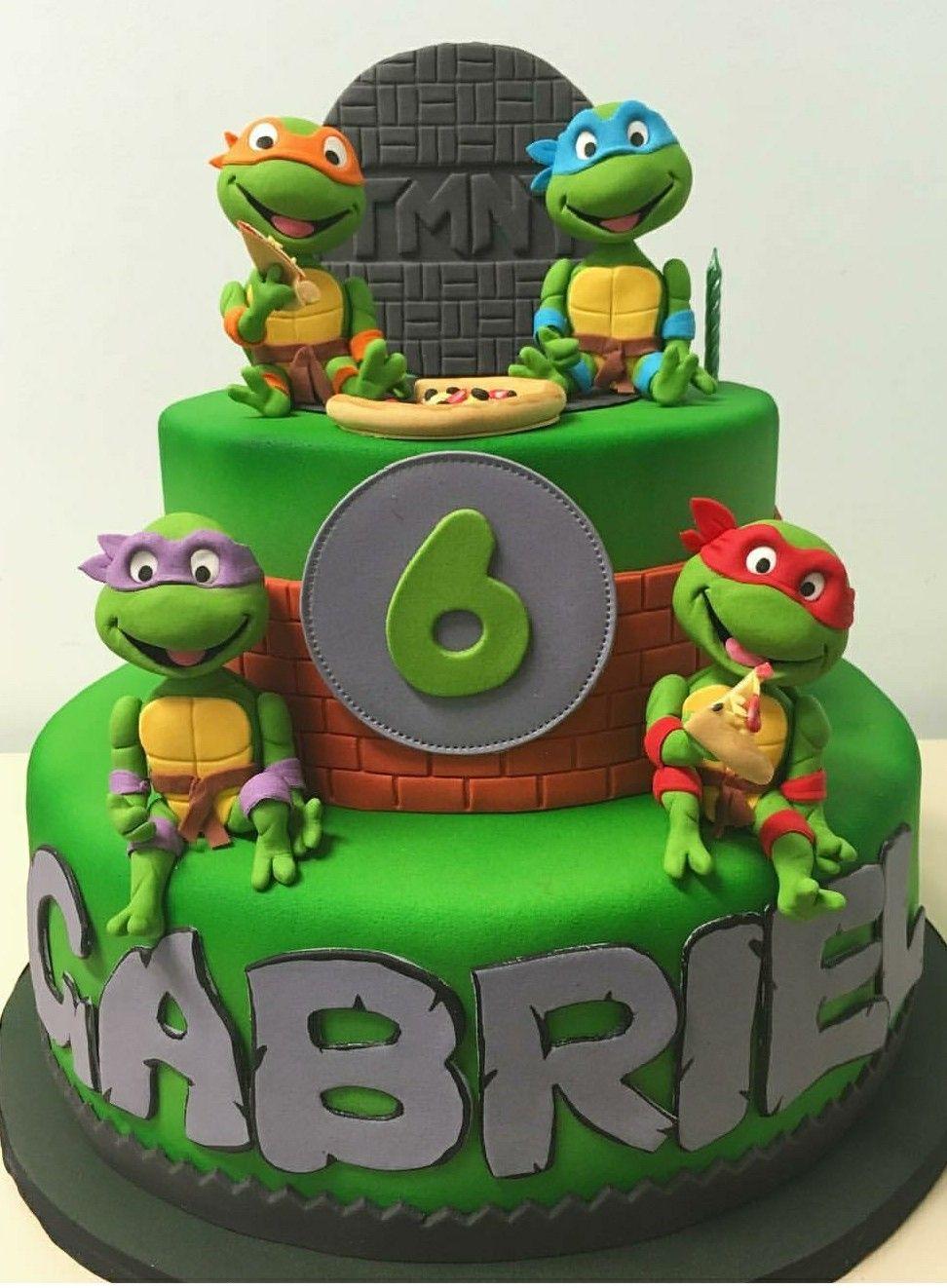 Ninja Turtle Cake Ninja Turtle Birthday Cake Turtle Birthday Cake Ninja Turtles Birthday Party