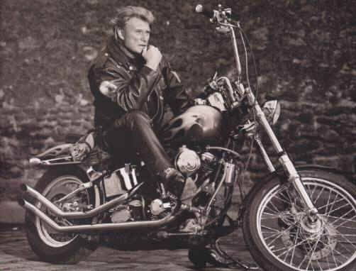 johnny hallyday bikers pinterest johnny halliday and musicians. Black Bedroom Furniture Sets. Home Design Ideas