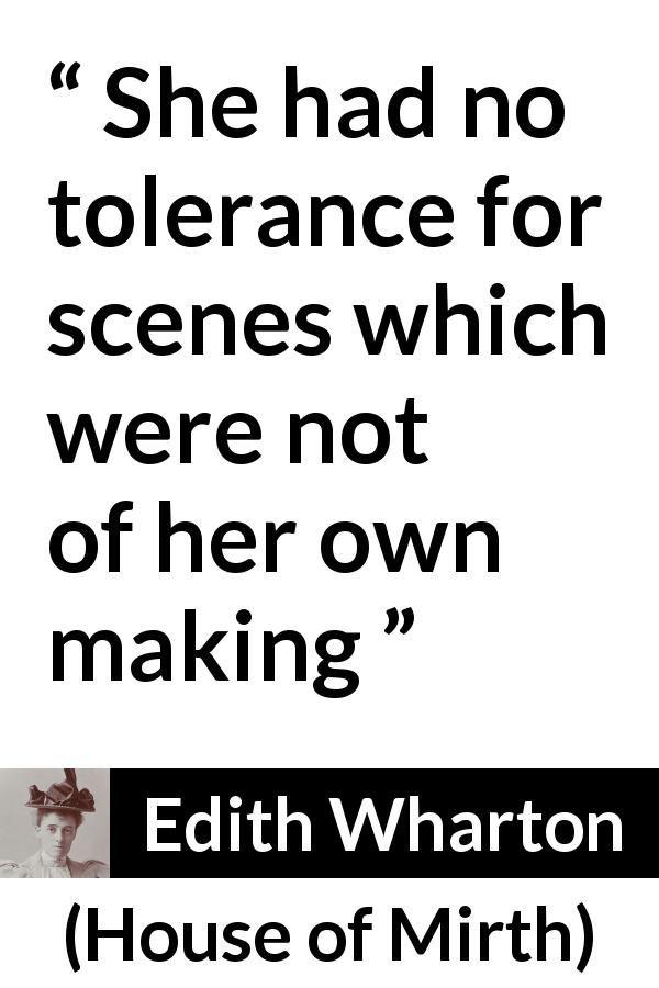 "Edith Wharton about drama (""House of Mirth"", 1905"