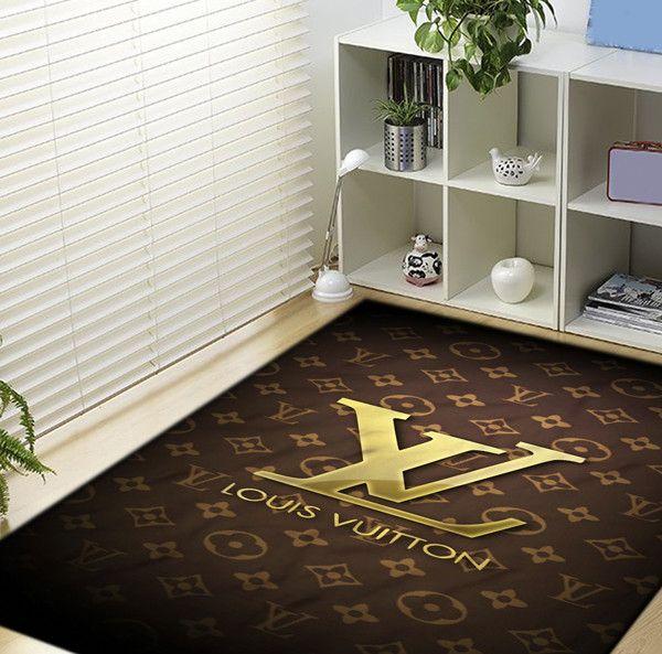 Louis Vuitton logo Blanket