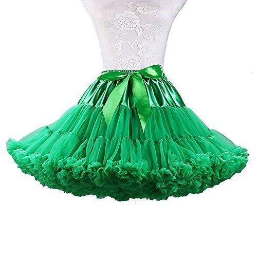 TopTie Girls Layered Rainbow Tutu Skirt Dance Dress Ruffle Tiered Clubwear