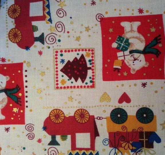 Fabric for advent calendar