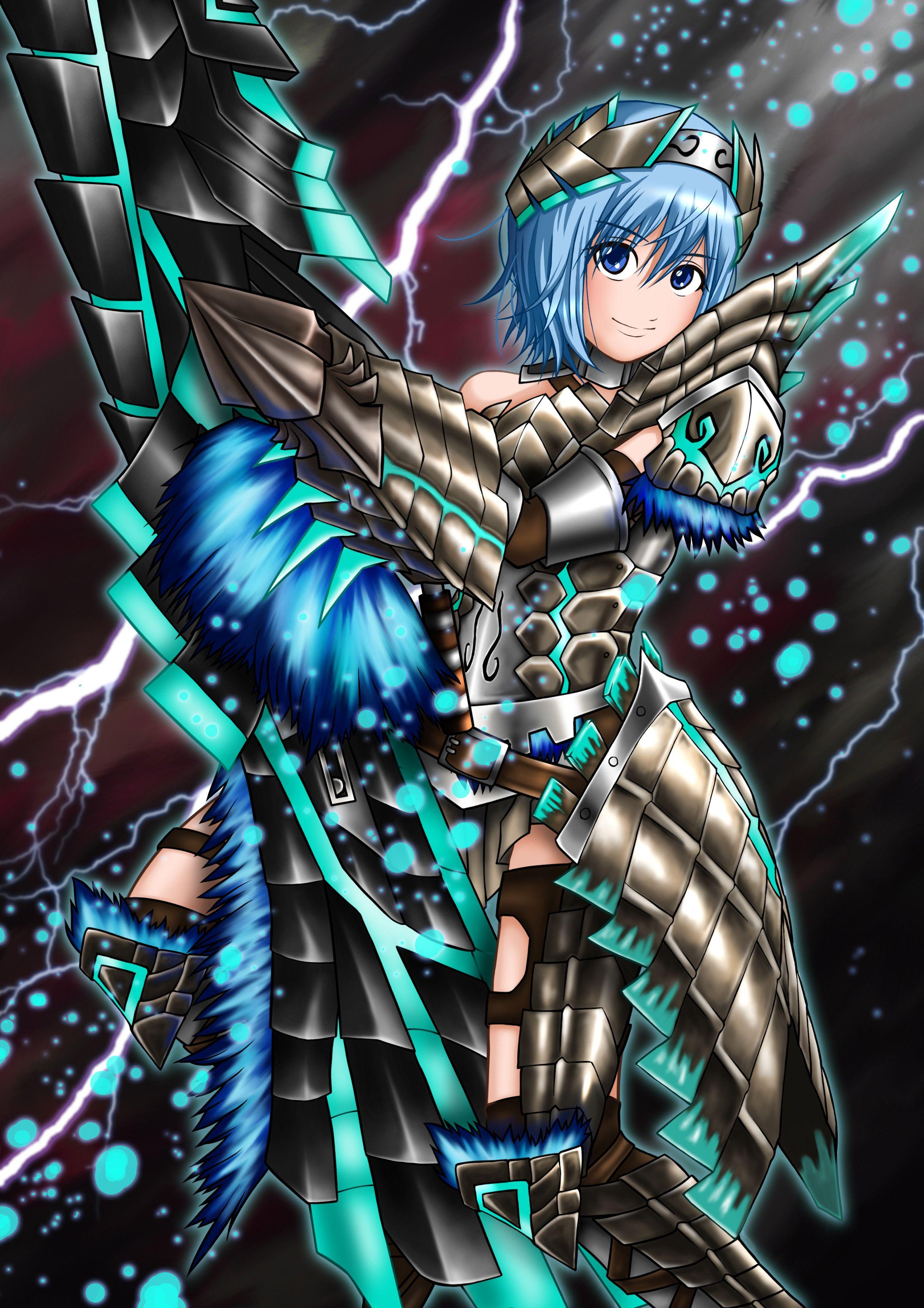 ミタマ@天翔銃4 Monster hunter, Character, Anime