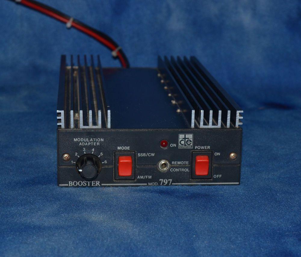 CTE International 797 Mobile HF Linear Amplifier AM-FM-SSB-CW RARE