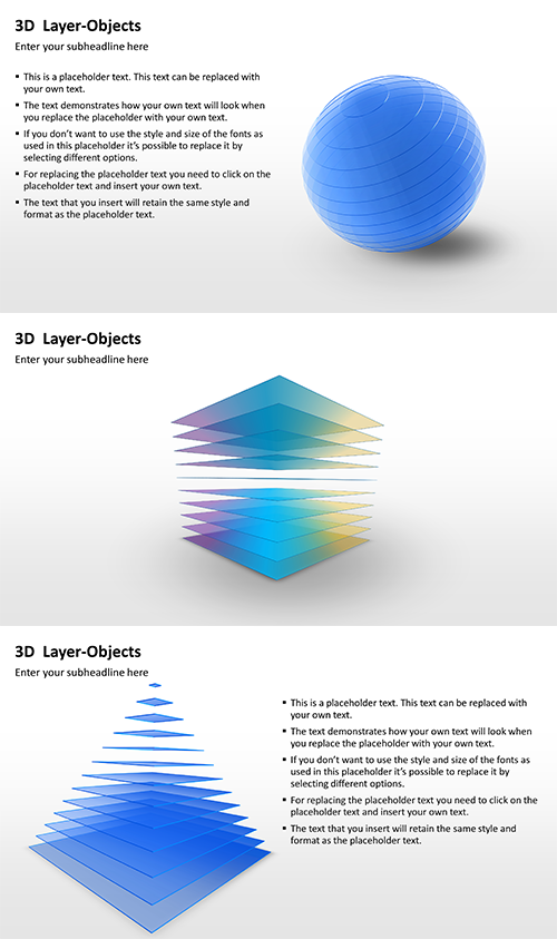 Download These Amazing D Layer Objects For Your Powerpoint