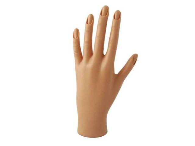Manequim de Mão para Praticas de Unhas