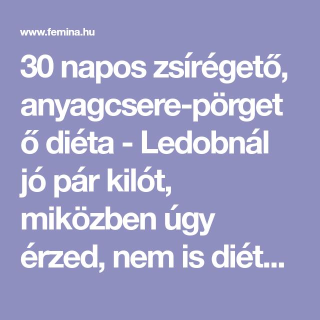 Anyagcsere-szabályozó diéta koplalás nélkül: 7 napos mintaétrendet mutatunk - Fogyókúra | Femina