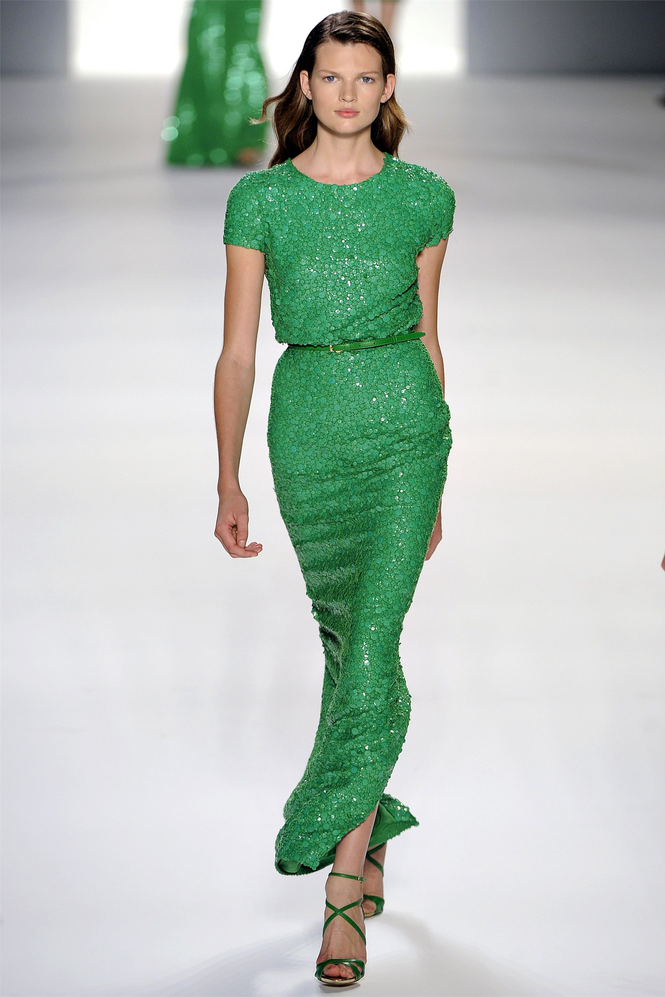 Elie Saab- not in my price range, but I'm a sucker for anything in this color.