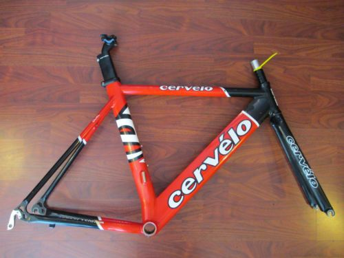 Cervelo Dual Triathlon Time Trial Tt Road Bike 650 Frame Set Size