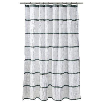 Superb Threshold™ Seersucker Shower Curtains