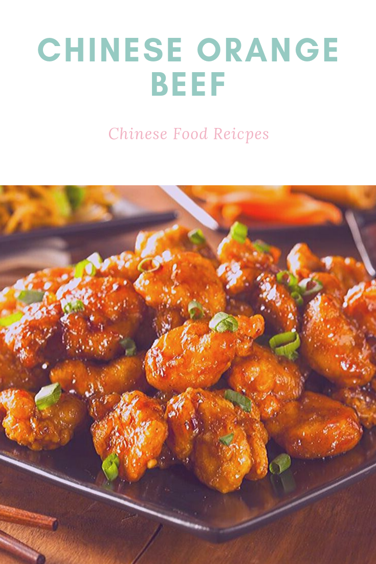 Chinese Orange Beef - In the event you like Orange Chicken, then you definitely will like Chinese Orange Beef. Yes, this crunchy beef covered with tangy-sweet sauce employs the same base and methods as Orange Chicken. Fantastic news - they are really easy to make in your house and yields juicier, healthier dish! #chinesefoodrecipes #chineseorangechicken