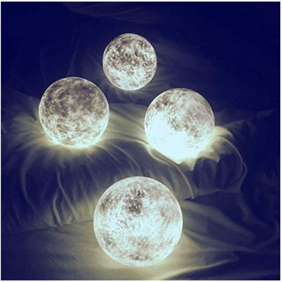 Those Insanely Cool Viral Moon Lanterns Are 25 Off For Amazon Prime Day Night Light Kids Moon Light Lamp Color Changing Led