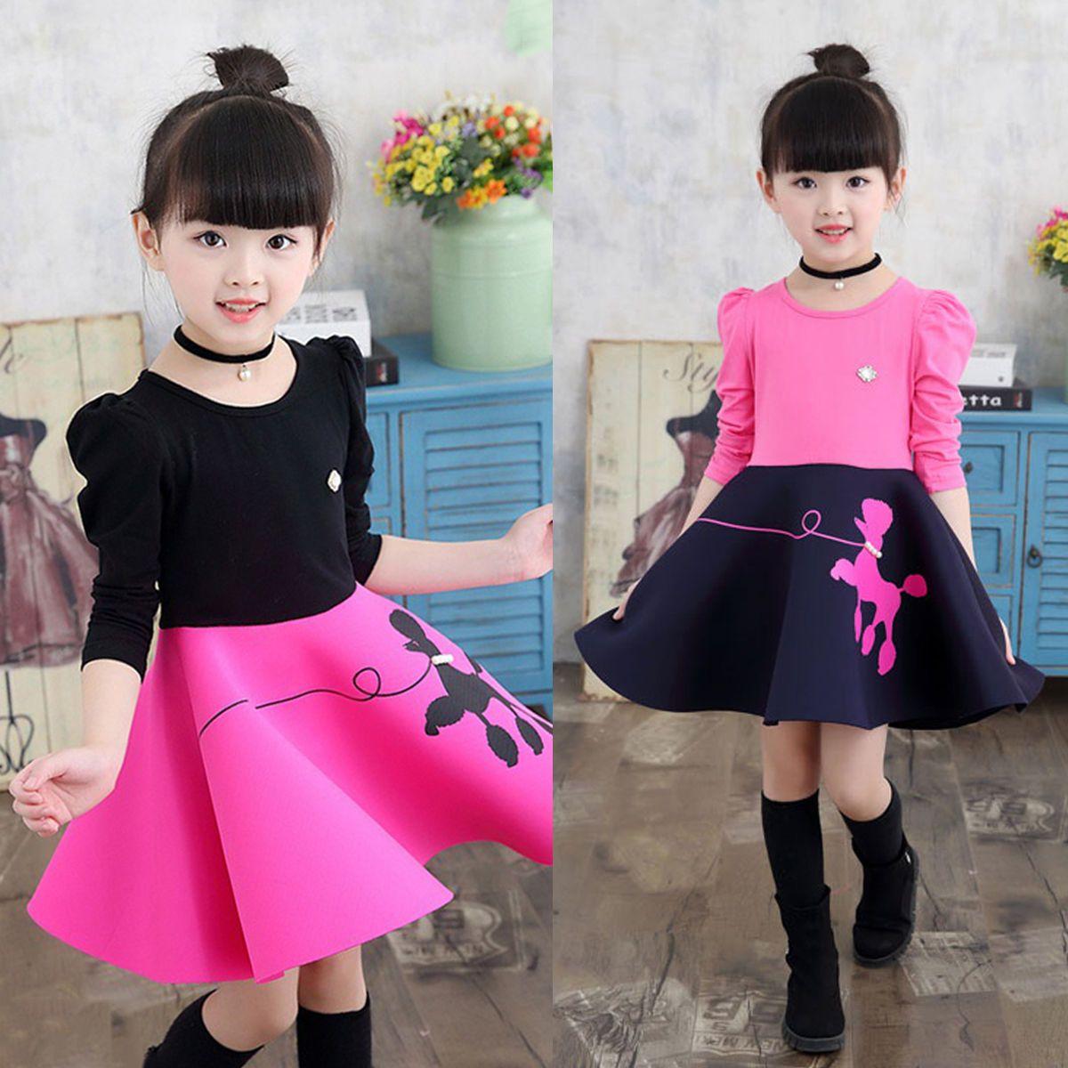 $10.37 Kids Baby Girl Princess Tutu Dress Floral Long