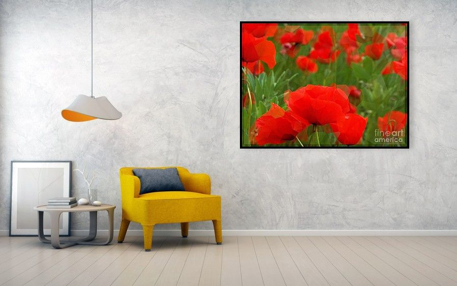 The Poppies Of Dreams metal print by Elizabeth McTaggart. Art comes ...