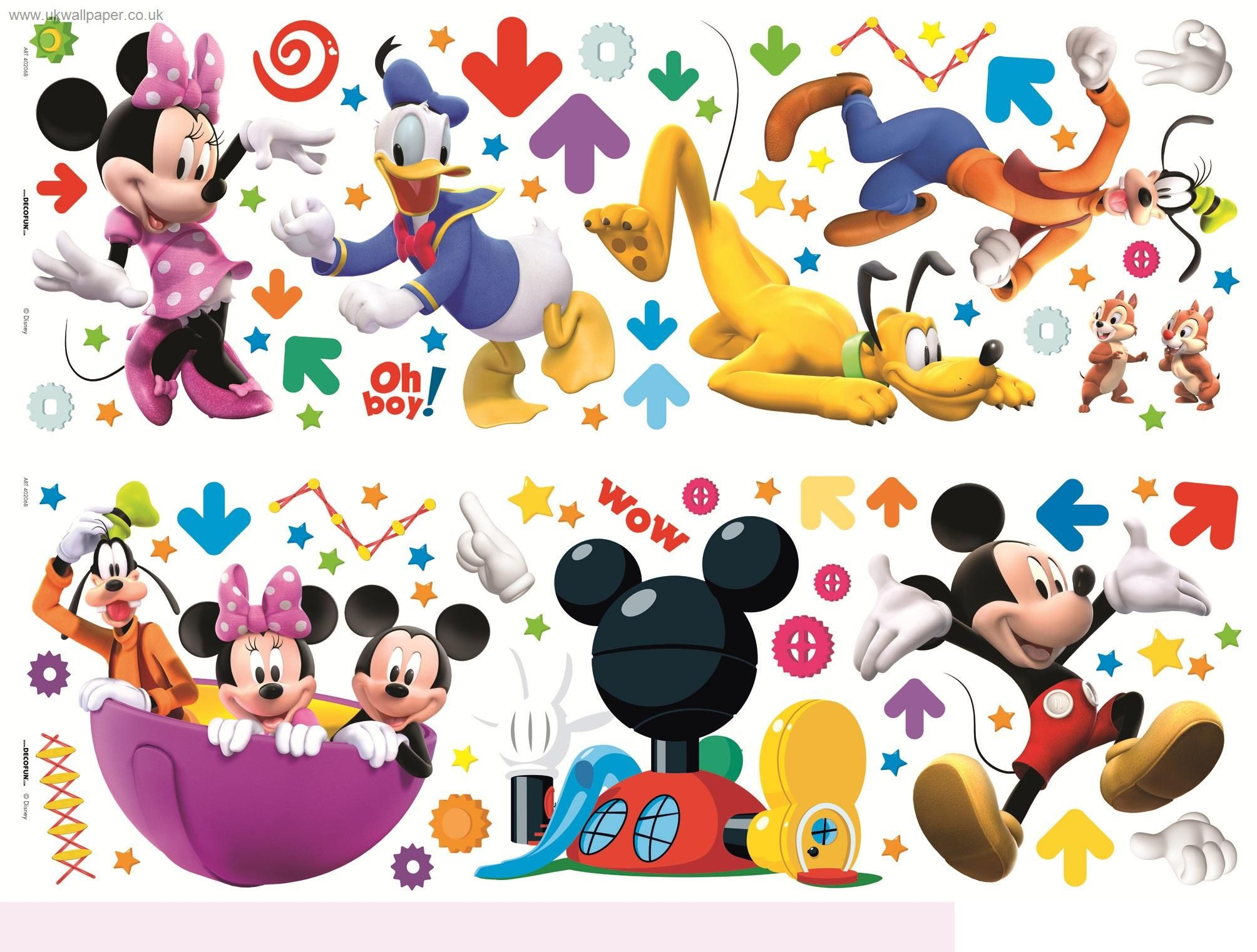 Mickey Mouse Clubhouse Wall Stickers