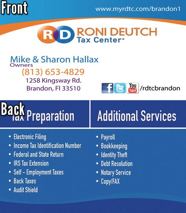 Rdtc franchise owner business card designed by spectra marketing rdtc franchise owner business card designed by spectra marketing solutions need business cards designed and reheart Image collections
