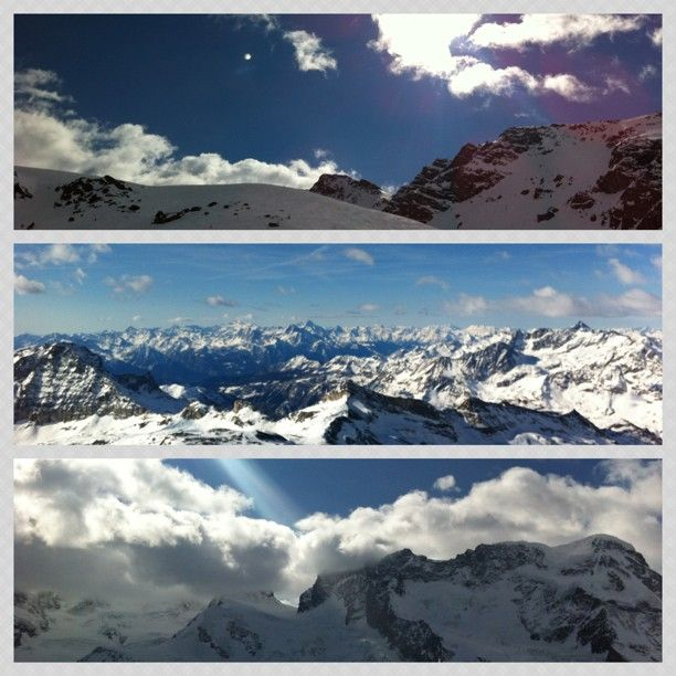 Great view From the Alps - 3 Instashots gathered