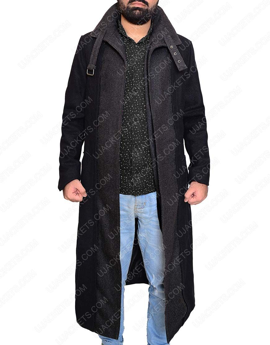 Here S The Black Carbon Coat For Men Wear Of Takeshi Lev Kovacs Is The Protagonist Of The Books Altered Carbon Coat Altered Carbon Free Shirts