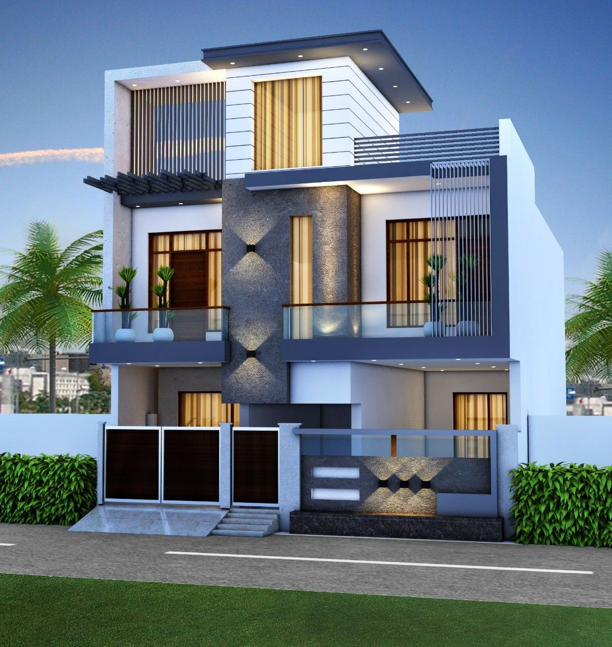 314 Best 3d Elevations Images House Styles House Design
