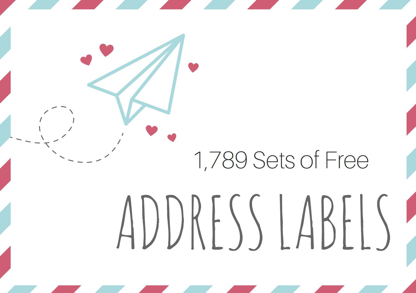 Try These Free And Stylish Address Templates Free Address Labels Free Printable Christmas Mailing Labels Labels Printables Free Templates
