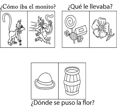 Cuentos De Don Coco Ficha De Comprensión Lectora Para Niños De 3 Años Cuentos Infantile Spanish Reading Comprehension Bilingual Classroom Spanish Classroom
