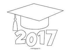 Image result for graduation cap cutout template