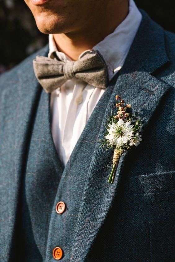 Autumn Fashion for grooms Dust the Yellowed Leaves
