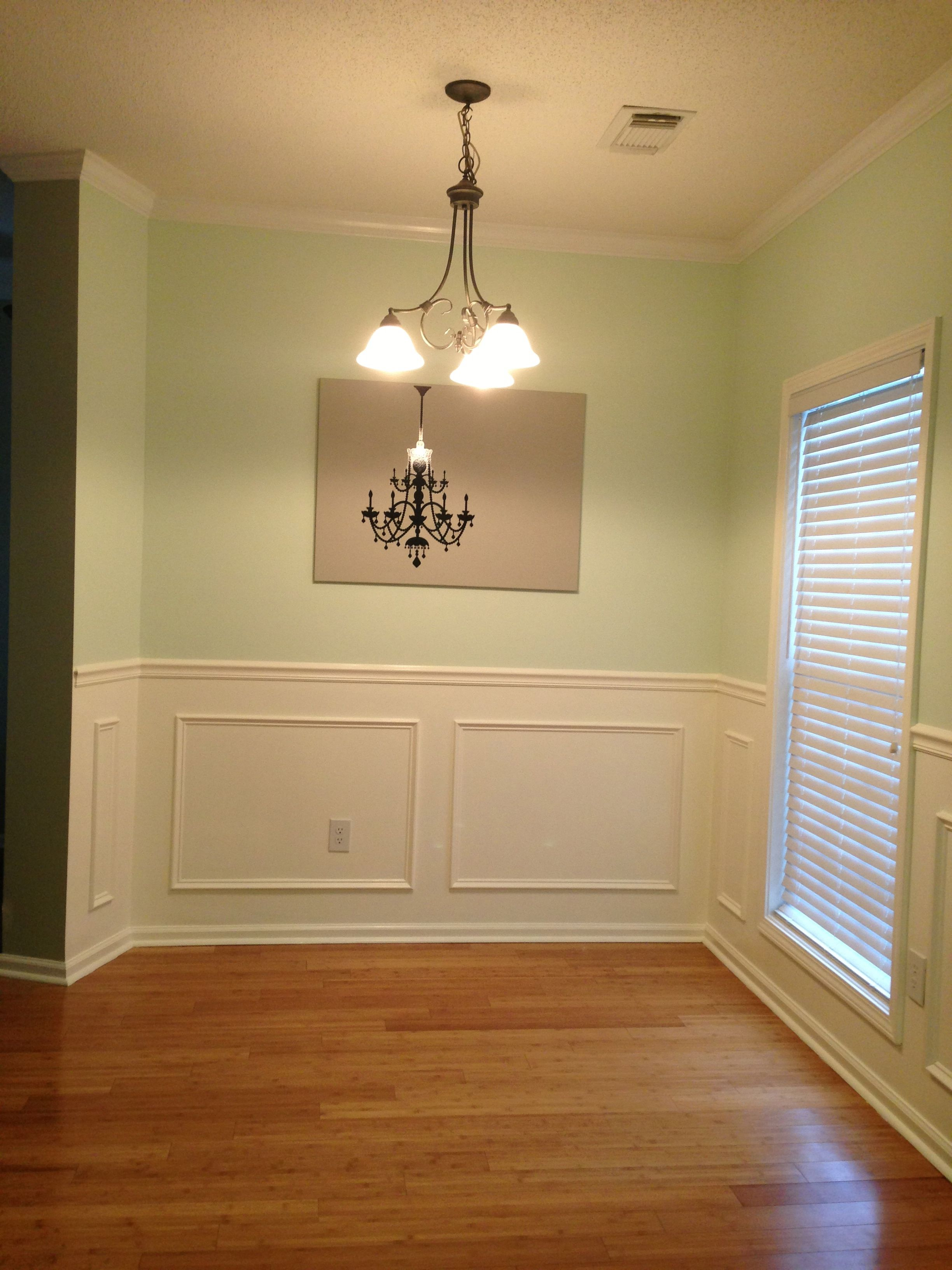 Simple Trim Work can easily define your space in your home In