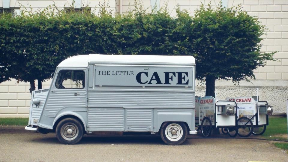 truck cafe ice cream - truck cafe ice cream free stock photo ...