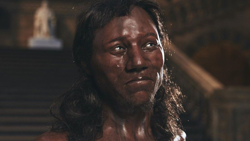 Dna Reveals Ancient Britons Had Black Skin Blue Eyes And Curly