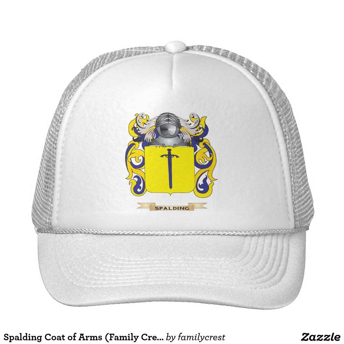 Spalding Coat of Arms (Family Crest) Trucker Hat