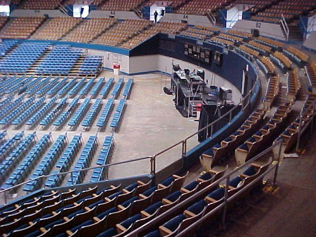 Nashville Municipal Auditorium General session set-up Arena