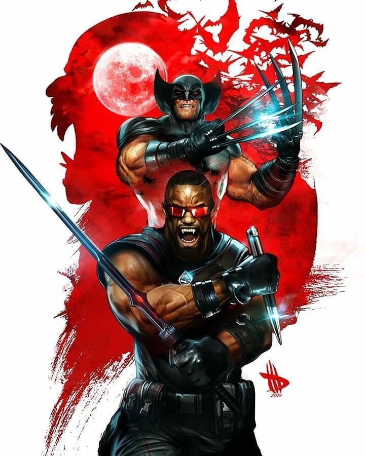 Marvel Comics. Comic Book Artwork • Wolverine Vs Blade by Dave Wilkins. Follow us for more awesome comic art, or check out our online store www.7ate9comics.comMarvel #Comics. #Comic #Book #Artwork #• #Wolverine #Vs #Blade #by #Dave #Wilkins. #Follow #us #for #more #awesome #comic #art, #or #check #out #our #online #store #www.7ate9comics.com #blade