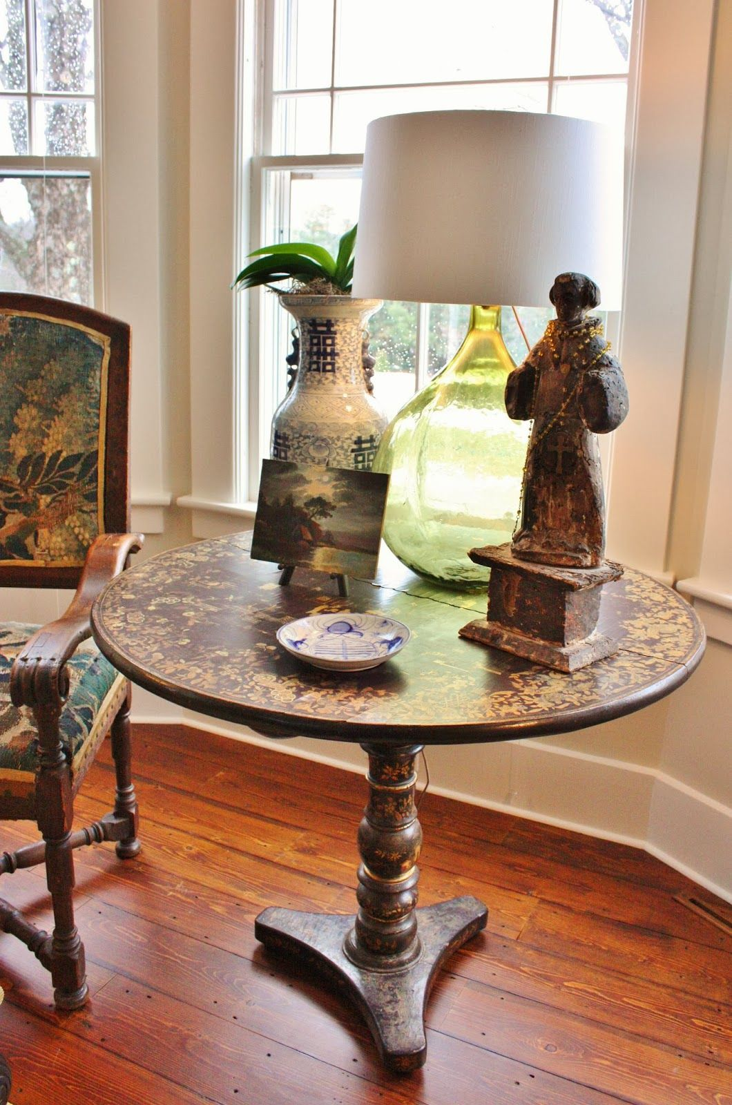 this table is a china export black lacquer and hand on hand painted dining room tables id=32041