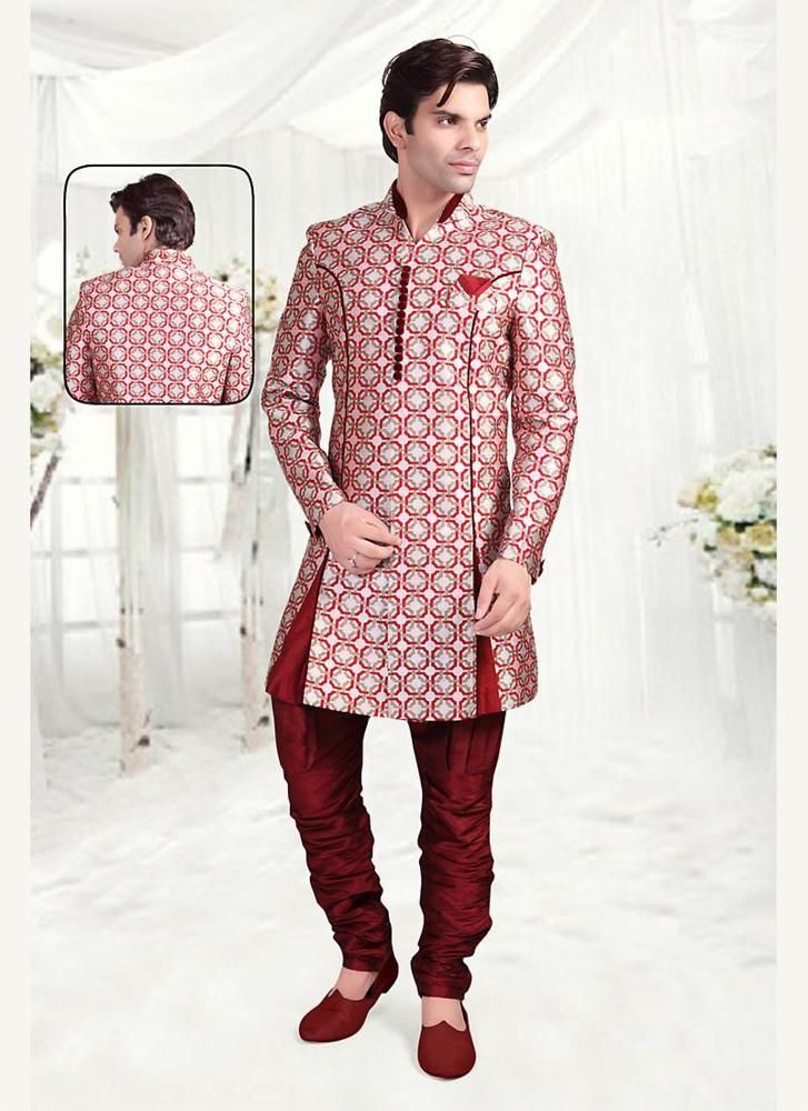 Ethnic Indostyle Bollywood Designer Indian Mens Wedding Dress ...