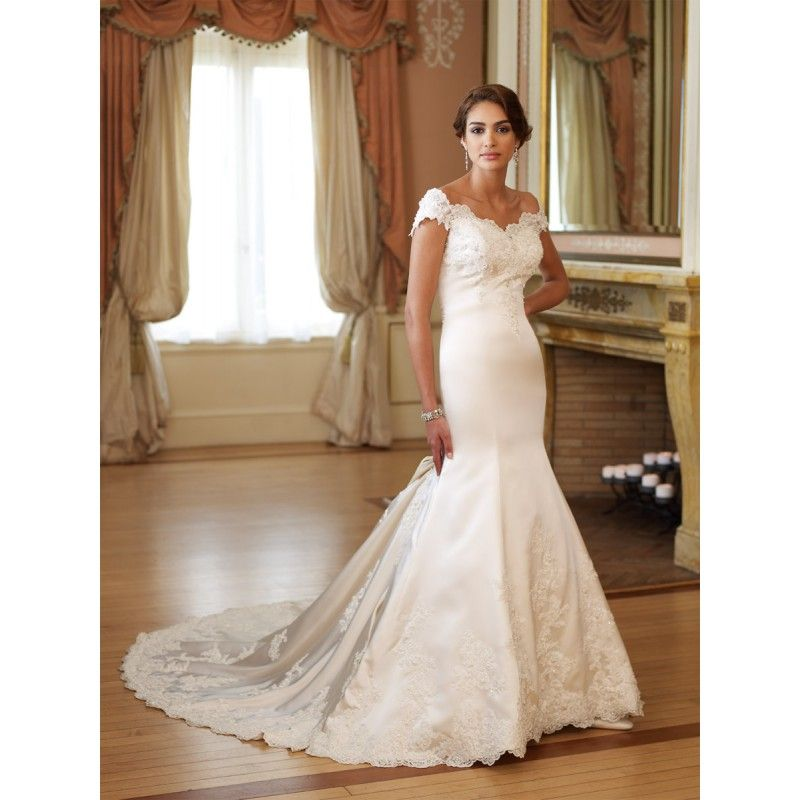 Lace Wedding Dresses With Cap Sleeves