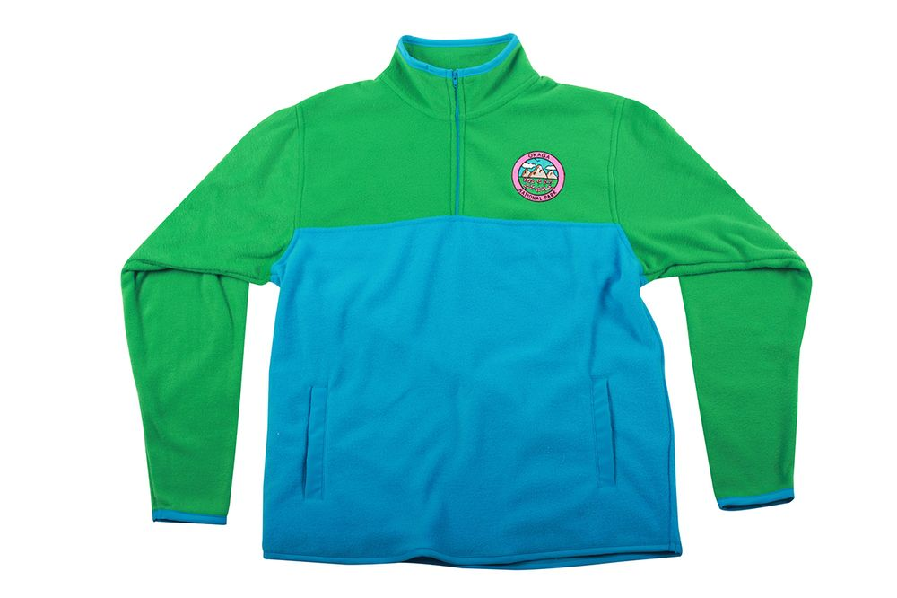 OKAGA POLAR FLEECE PULLOVER BLUE/GREEN - Golf Wang | Stuff to Buy ...