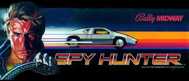 Spy Hunter arcade side art