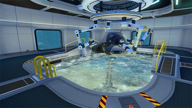 how to get into the collapsed alien building subnautica