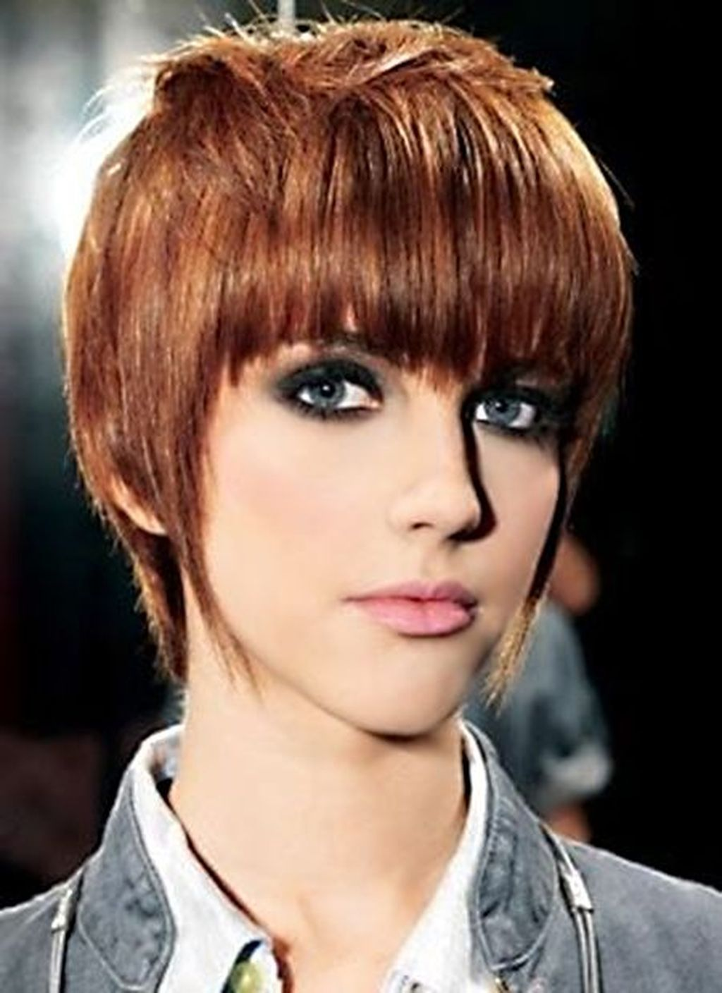 brilliant womens short hairstyles with bangs stunning